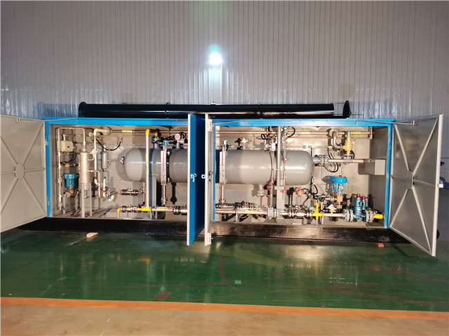 300,000 m3 three-phase separator for Puyang