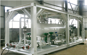 Skid-mounted three-phase separator for Pakistan