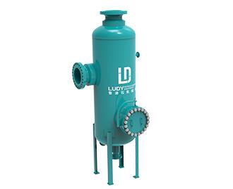 Natural gas circulation separator